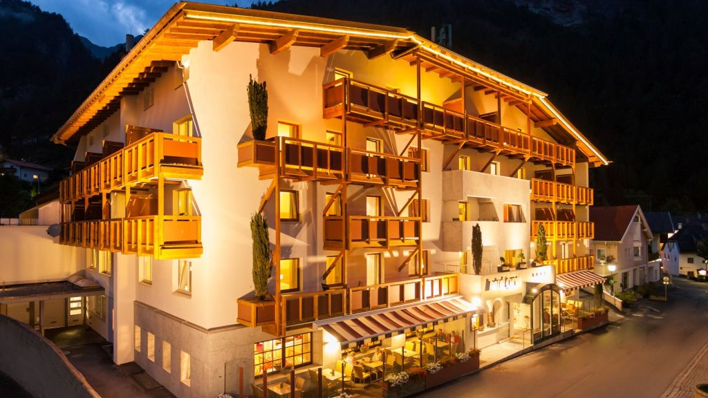 Hotel Tyrol Pfunds Willkommen