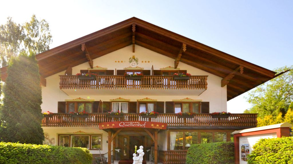 Quellenhof Bad Wiessee 3 Sterne Hotel Tiscover