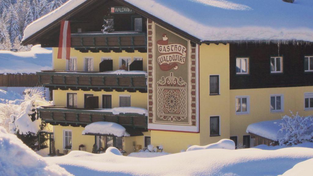 Gasthof Waldwirt Russbach am Pass Gschuett Hotel outdoor area - Gasthof_Waldwirt-Russbach_am_Pass_Gschuett-Hotel_outdoor_area-173790.jpg