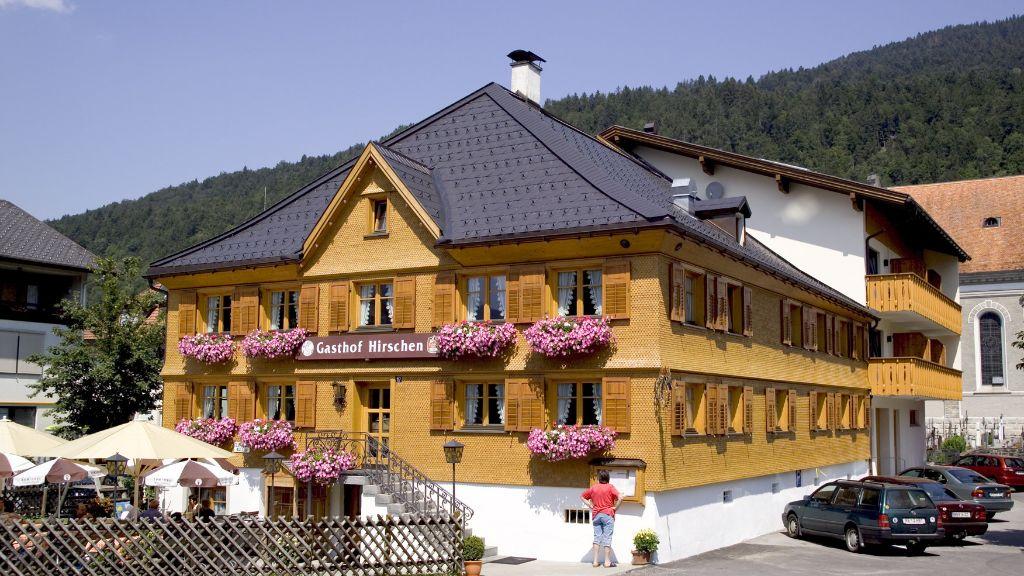 Hotel Gasthof Hirschen Bezau Hotel outdoor area - Hotel_Gasthof_Hirschen-Bezau-Hotel_outdoor_area-2-435154.jpg