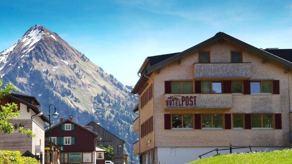 Kletterausrüstung Vorarlberg : Alpen hotel post au u2013 willkommen region schoppernau