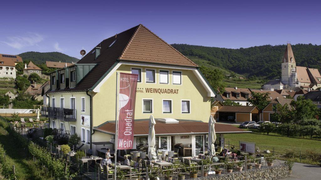 Weinquadrat Weissenkirchen in der Wachau Aussenansicht - Weinquadrat-Weissenkirchen_in_der_Wachau-Aussenansicht-3-519386.jpg