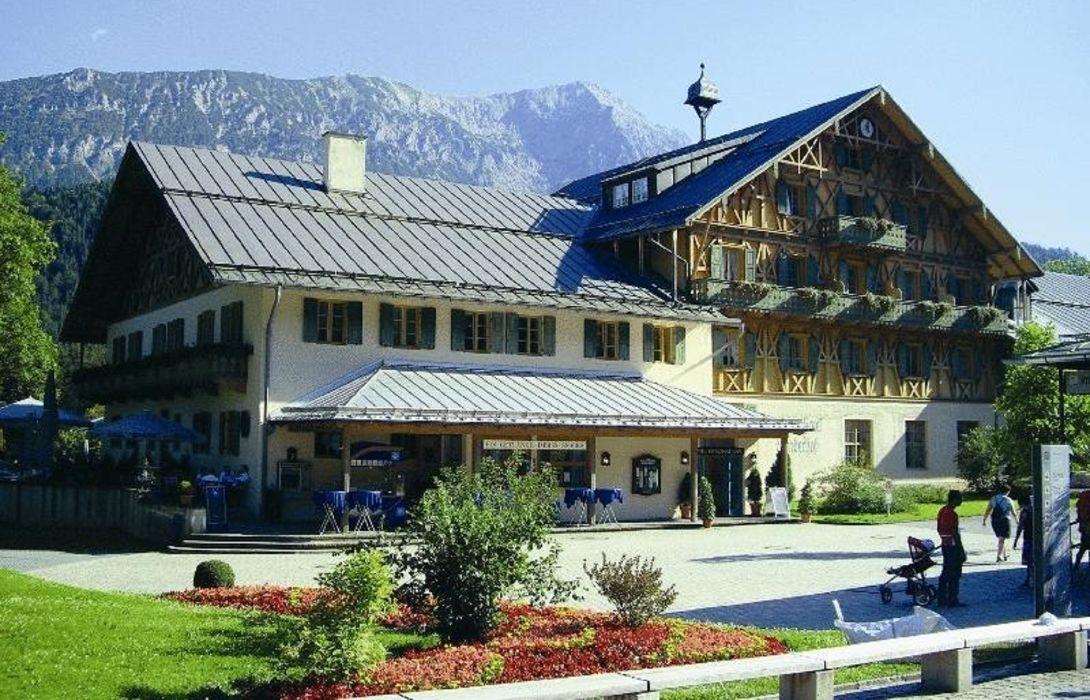 Schlosshotel Linderhof In Ettal Hotel De