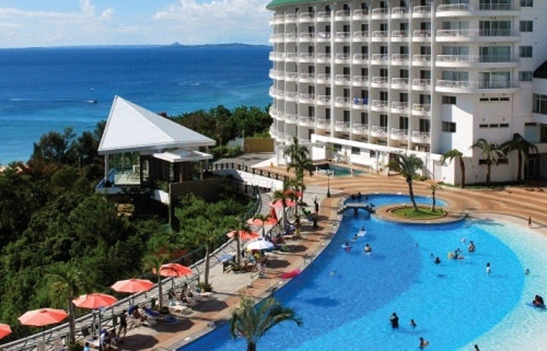 Hotel Okinawa Kariyushi Beach Resort Ocean Spa Onna Son Great Prices At Hotel Info