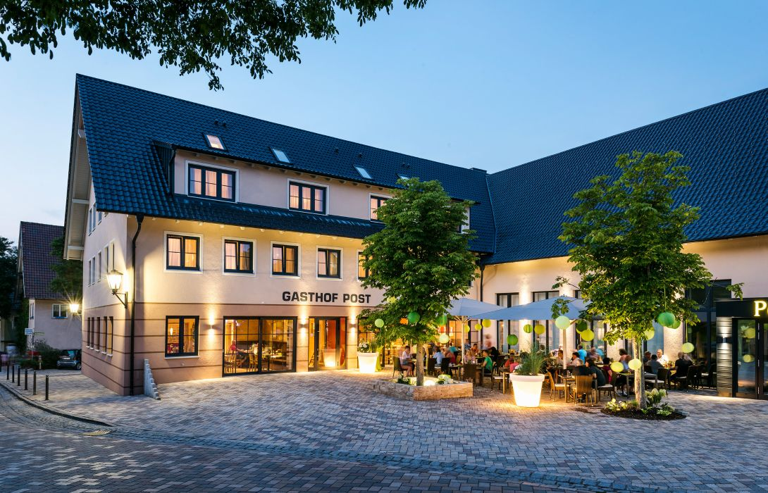 Die Post Hotel Gasthof Bad Gronenbach Great Prices At Hotel Info