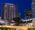Vista exterior Pan Pacific Singapore