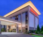 Buitenaanzicht Hampton Inn Seattle-Airport