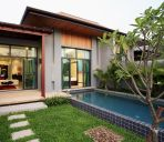 Kamer met uitzicht op pool Naiharn beach Two Villas HOLIDAY - Onyx Style