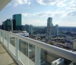 Chambre avec terrasse Luxury Apartments at 50 Biscayne