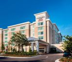 Außenansicht SpringHill Suites Orlando at FLAMINGO CROSSINGS® Town Center/Western Entrance