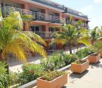 Außenansicht Bonaire Seaside Apartments