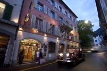 Hotel Stern Chur swiss historic Malix