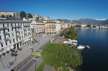 International au Lac Historic Lakeside Hotel Lugano