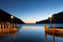 Lago di Garda Torbole am Gardasee - Nago