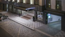 Exterior view Alcron Hotel Prague