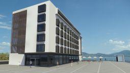 Exterior View Lake Geneva Hotel