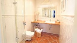 Bagno in camera Castle Square Apartment