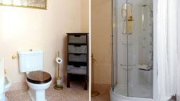 Bagno in camera Bed and Breakfast Alba