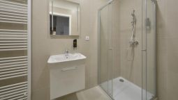 Bagno in camera DownTown Suites Belohorska