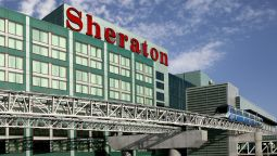 Exterior view Sheraton Gateway Hotel in Toronto International Airport