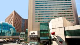 Buitenaanzicht Embassy Suites by Hilton Indianapolis Downtown