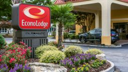 Exterior view Econo Lodge Stockbridge