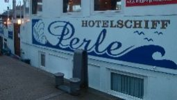Exterior view Hotelschiff Perle