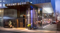 Exterior view TRUMP SOHO NEW YORK