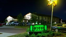 Buitenaanzicht Hotel Happy Star