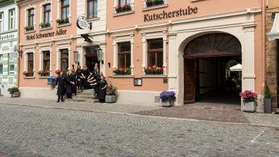 Schwarzer College-Einsatz