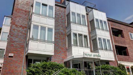 Hotel Entree Gross Borstel Garni Hamburg 4 Hrs Sterne Hotel Bei