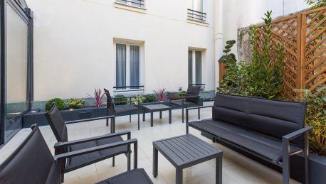 Hotel Jardin de Villiers Logis Paris - 3 HRS Sterne Hotel ...