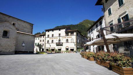 Grand hotel terme roseo bagno di romagna 4 hrs sterne hotel: bei