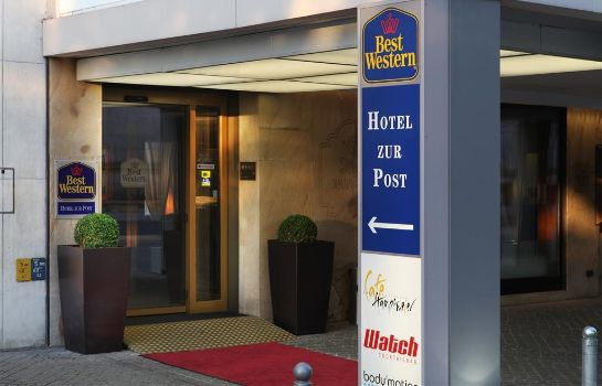 Exterior view Best Western zur Post