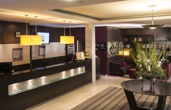Reception Mercure Hotel Duesseldorf Neuss
