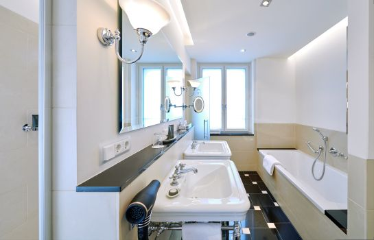 Bagno in camera Grandhotel Hessischer Hof