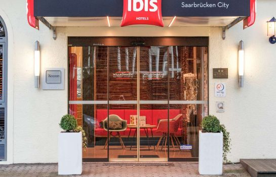 Exterior view ibis Saarbruecken City
