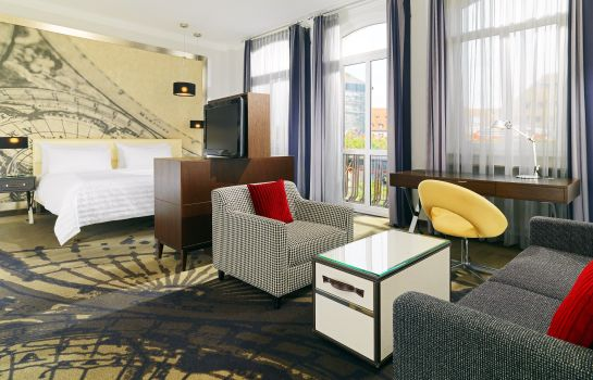 Junior Suite Le Meridien Grand Hotel Nuremberg