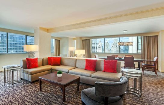 Suite WYNDHAM GRAND CHICAGO RVFRNT
