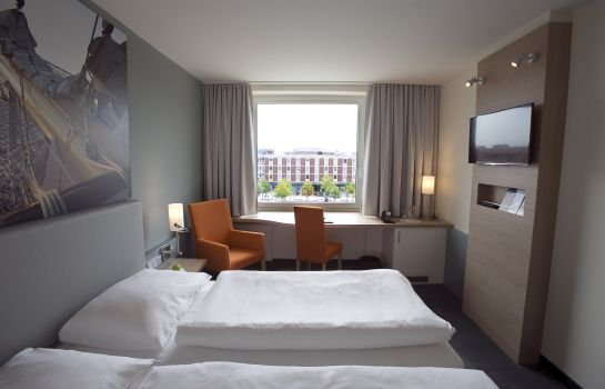 Chambre double (standard) Nordsee Hotel Bremerhaven