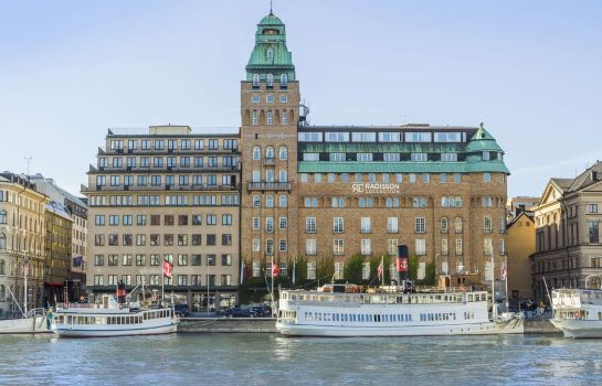 Exterior view RADISSON COLLECTION STRAND HOTEL STOCKHOLM