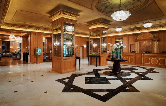 Hotelhalle Milan The Westin Palace