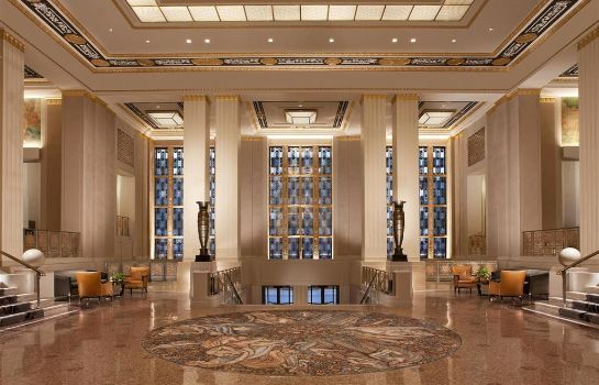 Hotelhalle Waldorf Astoria New York