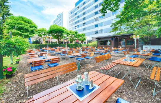 Terrasse Holiday Inn FRANKFURT AIRPORT - NORTH