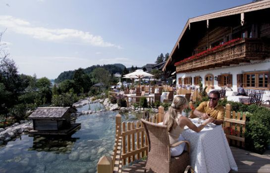 Terrasse Ebner's Waldhof am See Resort & Spa