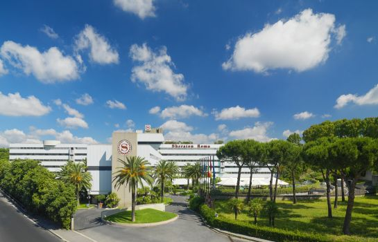 Außenansicht Sheraton Roma Hotel & Conference Center