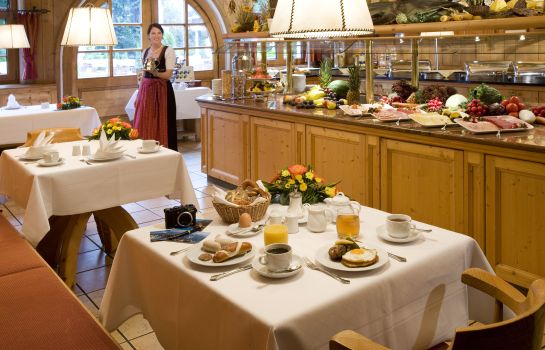Breakfast buffet Mercure Hotel Garmisch Partenkirchen