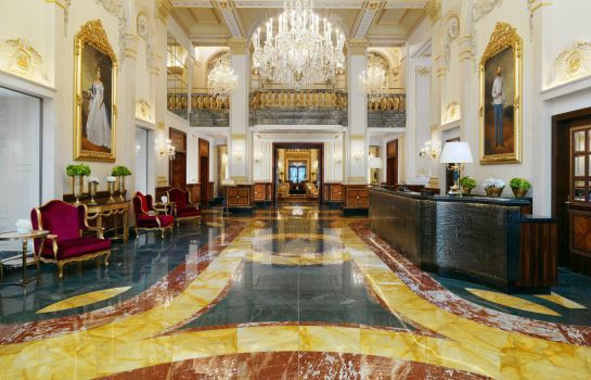 Empfang Hotel Imperial a Luxury Collection Hotel Vienna