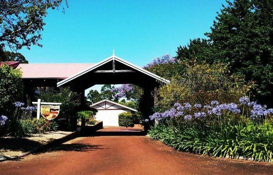 Buitenaanzicht Karri Forest Motel
