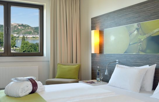 Chambre individuelle (confort) Mercure Hotel Koblenz